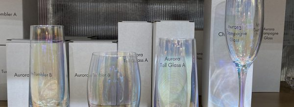 3COINS(スリコ)オーロラグラスにシャンパン、トール、タンブラーがラインナップ!